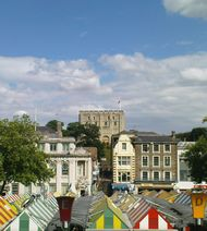 Norwich Castle and Market